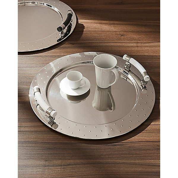 MG Round Tray with Handles