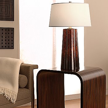 Shown in Brown Amber finish