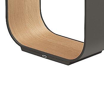 Graphite with White Oak Veneer
