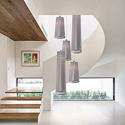 Mixed Solis 5 Chandelier