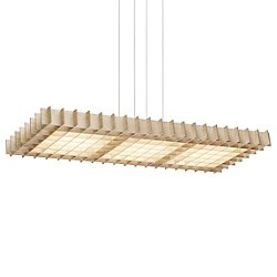 Pablo Grid Triple Pendant Light