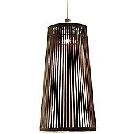 Solis Pendant Light (Brown/Stainless Steel/24 Inch)-OPEN BOX