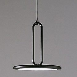 Clip Pendant Light with Closed Ring