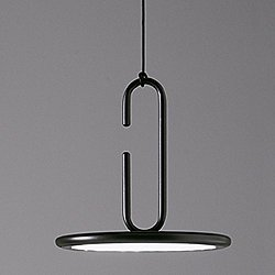 Clip Pendant Light with Open Ring
