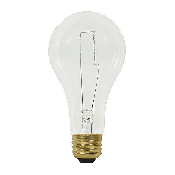 200W 120V A23 E26 Clear Bulb 2-Pack