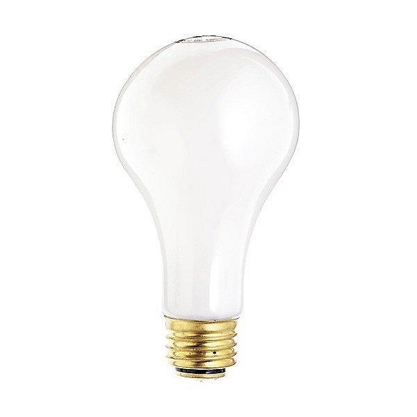 50/100/150W 120V A21 E26 3-Way White Bulb 2-Pack