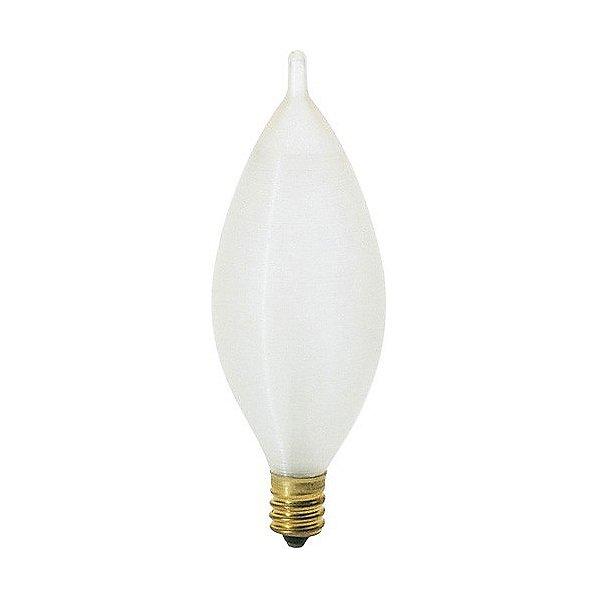 60W 120V C11 E12 Satin Spun Bulb 4-Pack