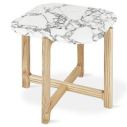 Quarry Marble End Table