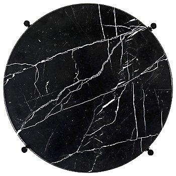 Black Marble Top finish / Black Base finish