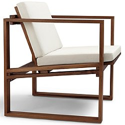 BK11 Lounge Chair with Cushion