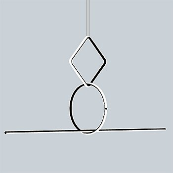 Arrangements Square Small Three Element Suspension