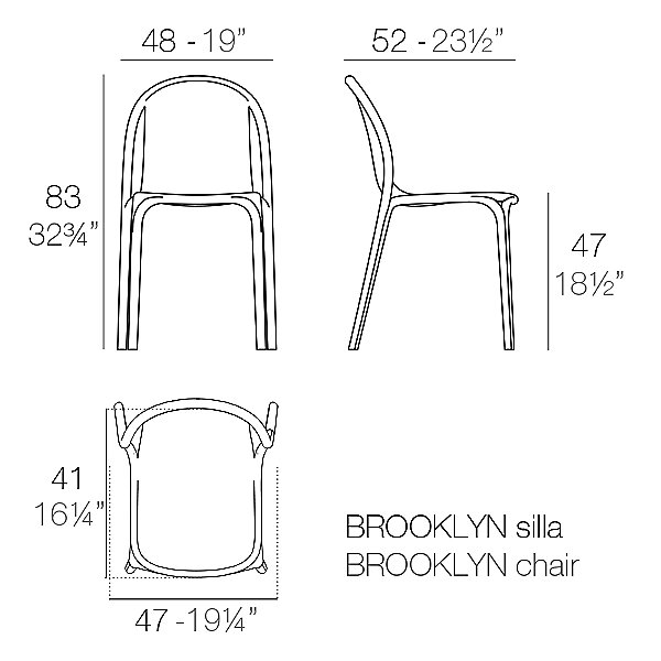 Brooklyn Side Chair Set of 4