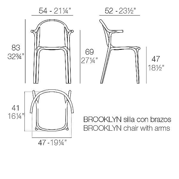 Brooklyn Armchair Set of 4