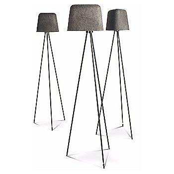Felt Shade Floor Lamp, in use
