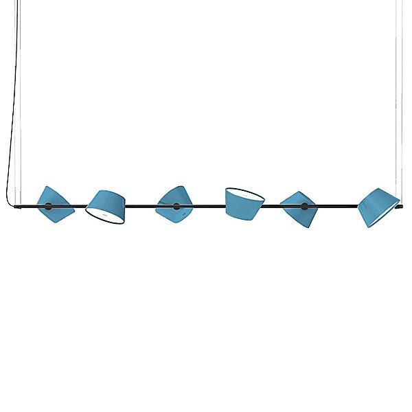 Tam Tam 6-Light Linear Suspension Light
