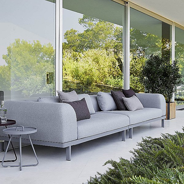 Space 2 Seater Sofa with Side Cushion