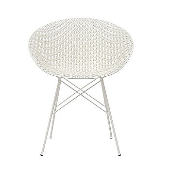White Seat with White Legs finish