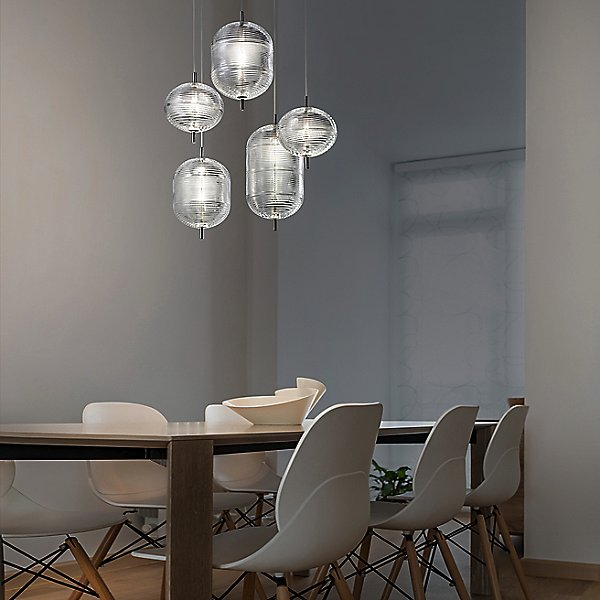 Jefferson LED Multi-Light Pendant Light