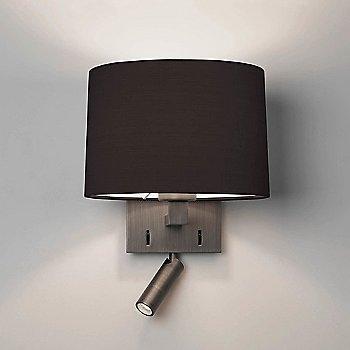 Matte Nickel finish / Bronze shade / illuminated