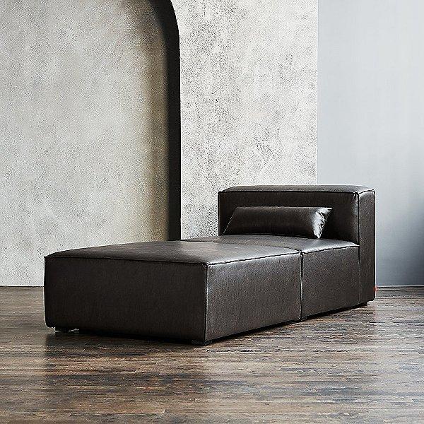 Mix Modular Chaise Lounge - Vegan Appleskin