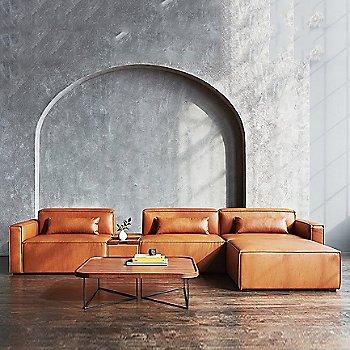 Vegan Appleskin Leather Cognac color