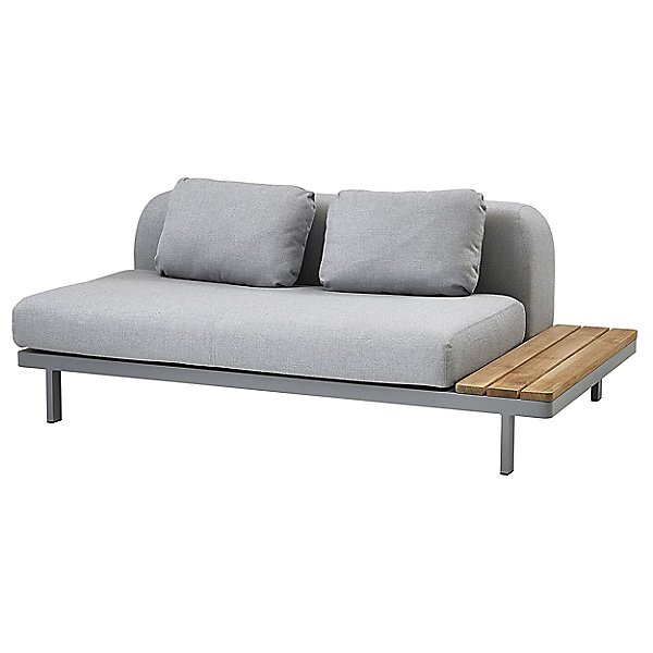 Space 2 Seater Sofa with Side Plate