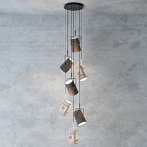 Fork Multi-Light Pendant Light