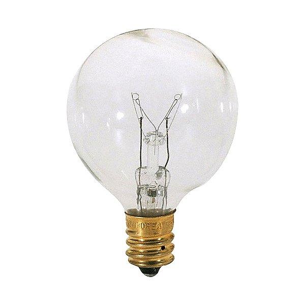 25W 120V G12 E12 Clear Bulb 6-Pack