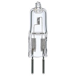 20W 12V T3 GY6.35 Halogen Clear Bulb 2-Pack