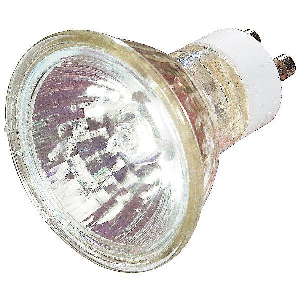 50W 120V MR16 GU10 Halogen Clear Bulb 2-Pack