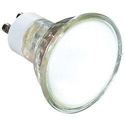 50W 120V MR16 GU10 Halogen Frosted Bulb 2-Pack