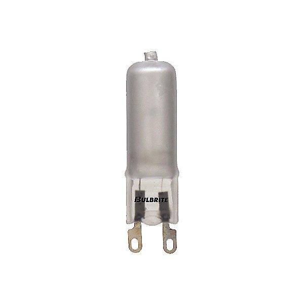 60W 120V T4 G9 Halogen Frosted Bulb 2-Pack