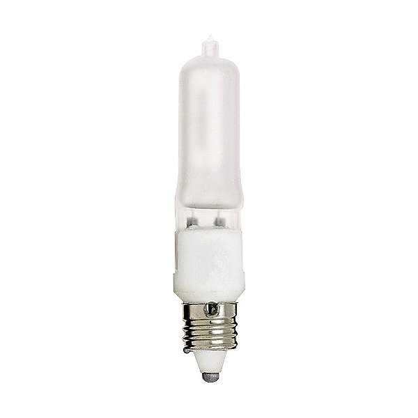 50W 120V T4 E11 Halogen Frosted Bulb 2-Pack