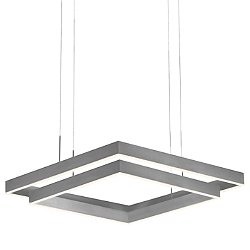 Prometheus LED Double Square Pendant Light