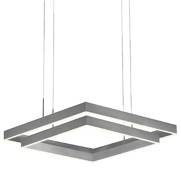 Prometheus LED Double Square Pendant Light