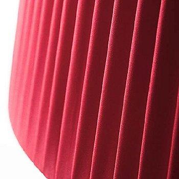 Red Plisse Detail