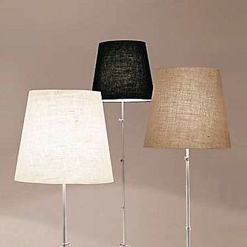 Shown with White, Black, and Beige Jute Shades