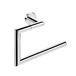 Kubic Cool Angular Towel Ring (Chrome) - OPEN BOX RETURN