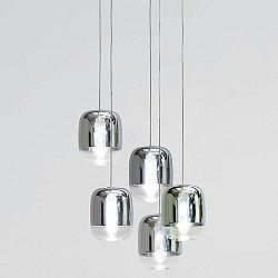 Gong Mini Multi-Light Pendant Light