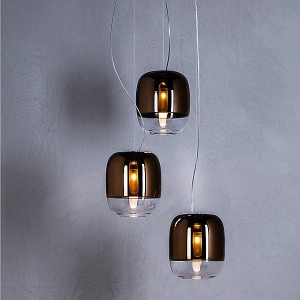 Gong LED S1 Multi-Light Pendant Light