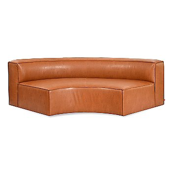 Vegan Appleskin Leather Cognac color