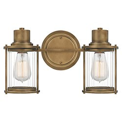Lucilla Brass Vanity Light