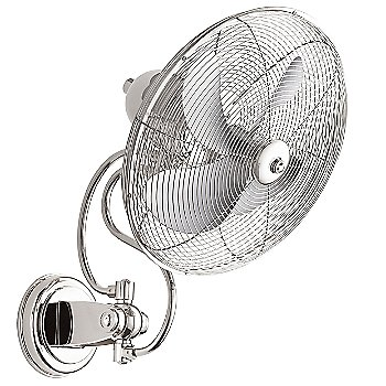 Polished Nickel Fan Body and Blade finish