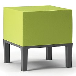 Primary Pouf 01 by Quinze & Milan (Lime Green) - OPEN BOX