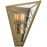 Industrial Brass Wall Sconces