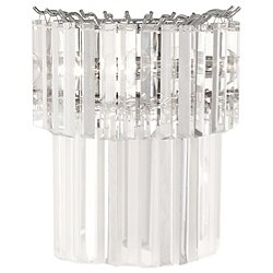 Spectrum Half Round Wall Sconce