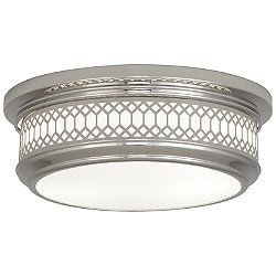 WILLIAMSBURG Tucker Flush Mount Ceiling Light