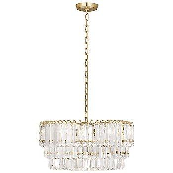 Shown in Modern Brass, Medium size