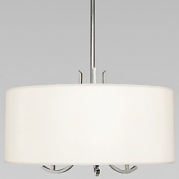 Shown in Polished Nickel w/ Pearl Shade