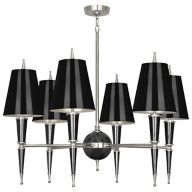 Black and Silver Chandelier